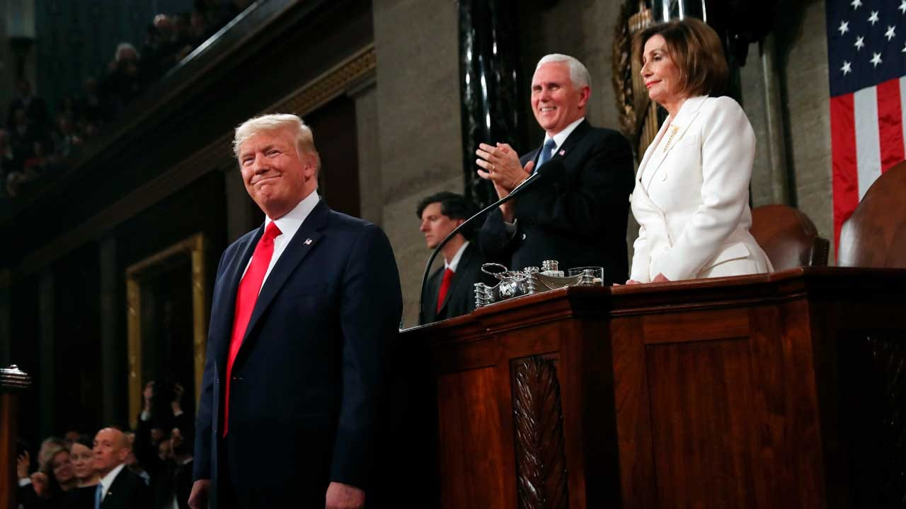 Trump Uses State Of The Union To Campaign; Pelosi Rips Up Speech