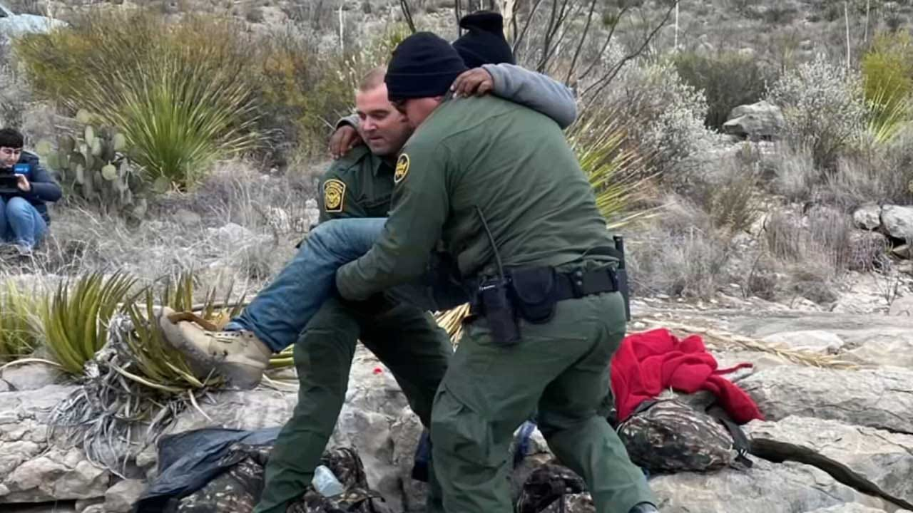 Border Patrol Agents Rescue Man Likely Left For Dead In Desert By Smugglers
