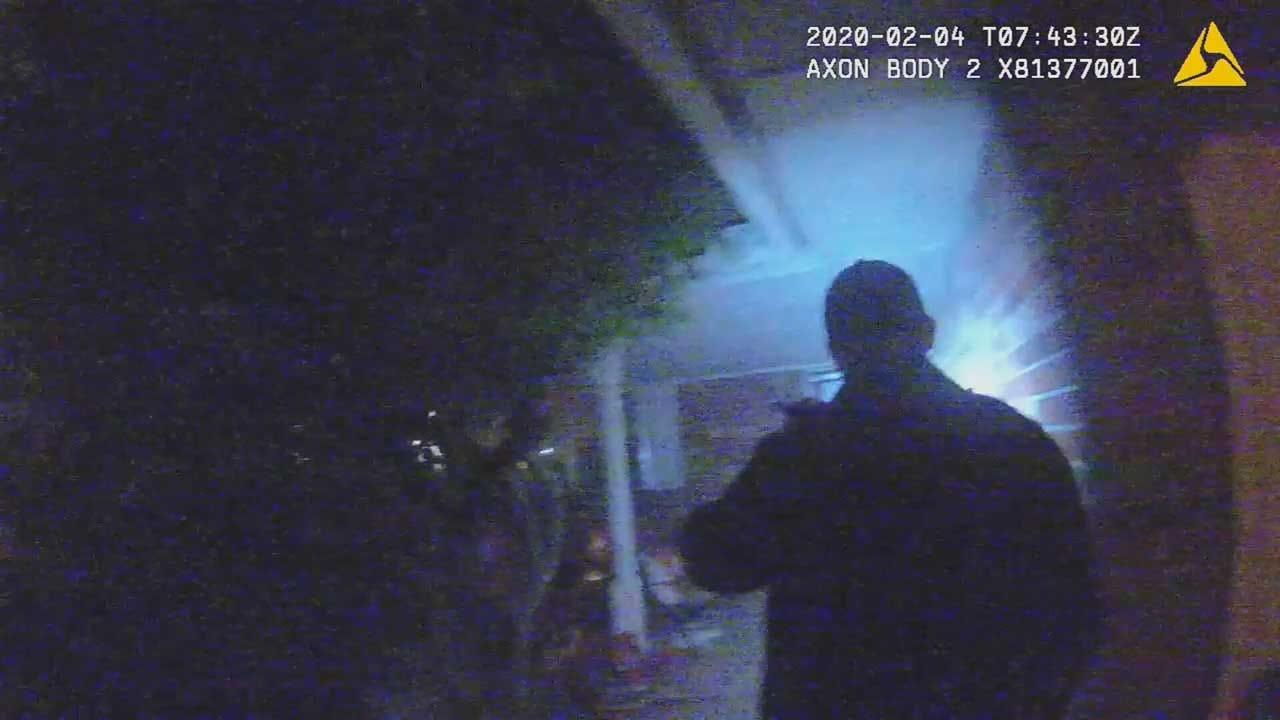 Intruders Break Into Home While Occupants Were Sleeping