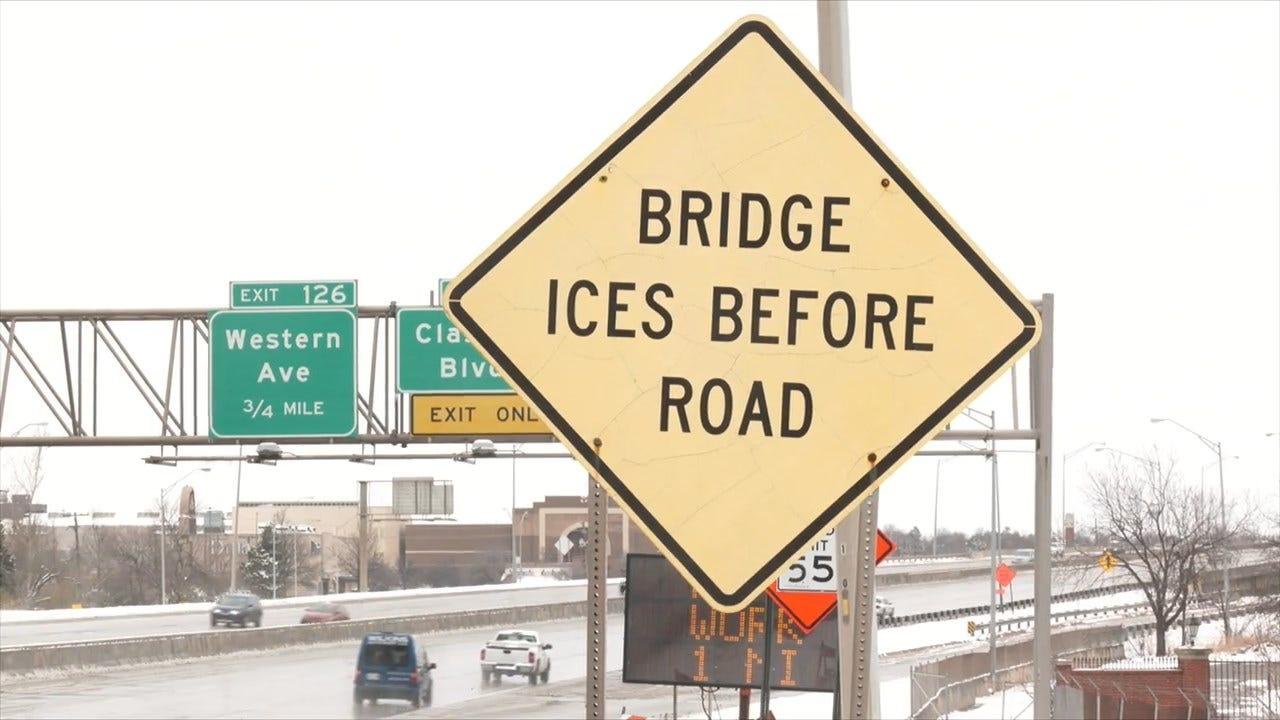 ODOT Warns Drivers Of Dangers On Winter Roads