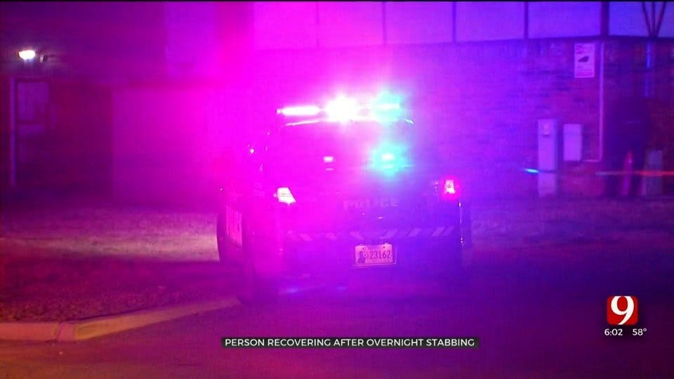 OKC Police: Man Recovering After Stabbing