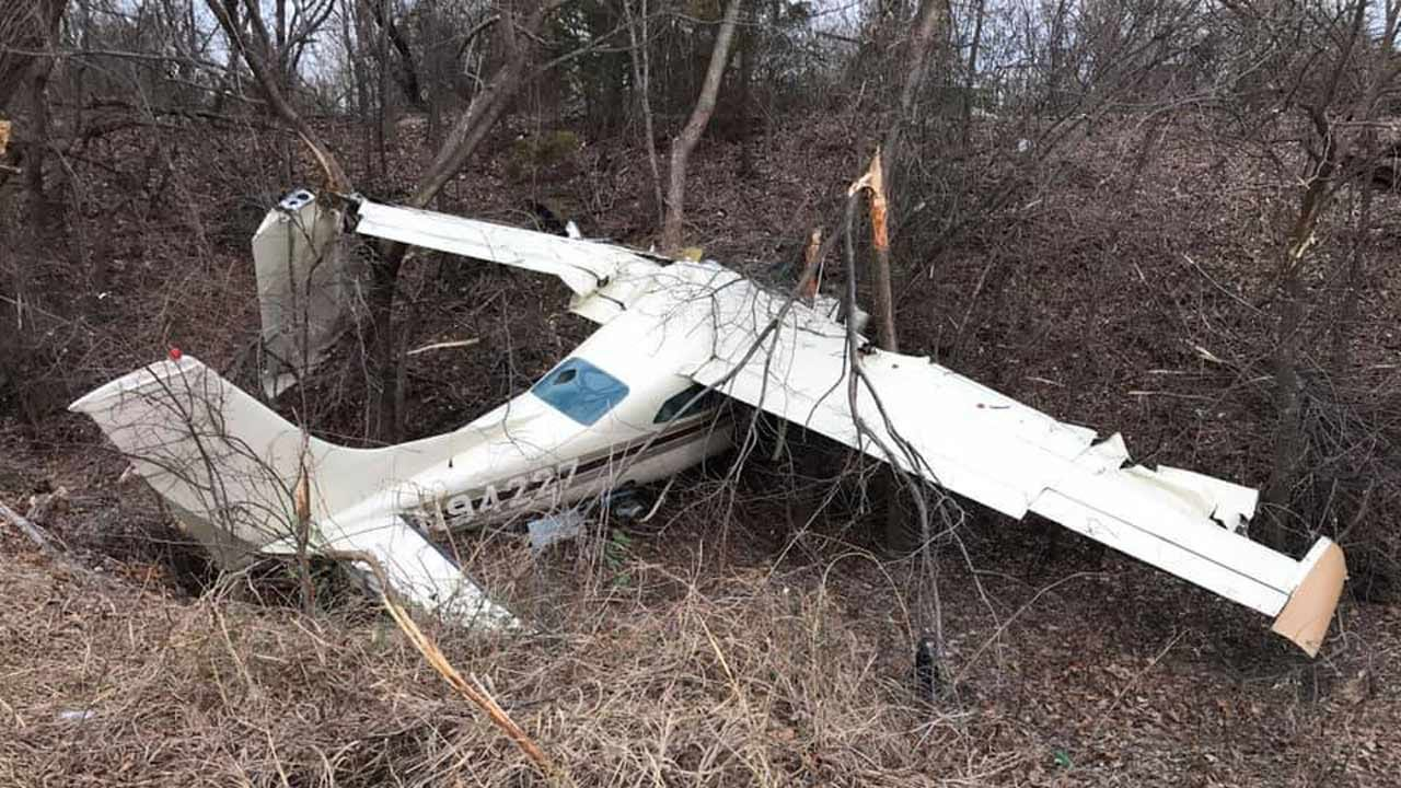 2 Transported To Hospital After Small Plane Crash In Ada
