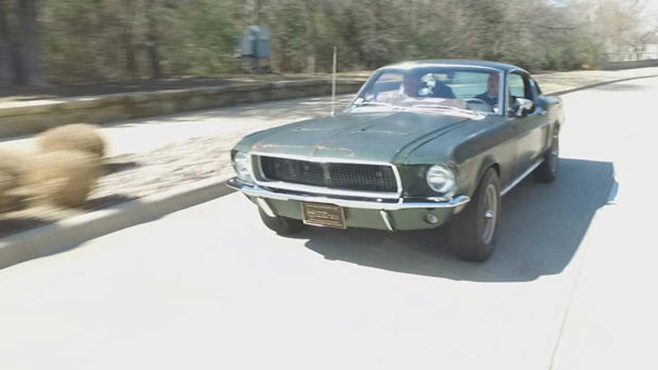 Steve McQueen's Famous 'Bullitt' Mustang Will Hit The Auction Block