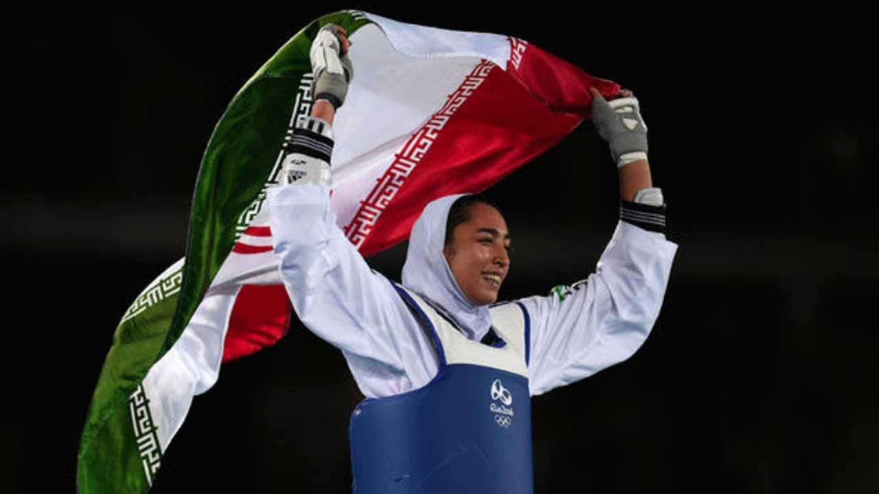 Iran's Only Female Olympic Medalist Says She Has Defected To Flee Oppression