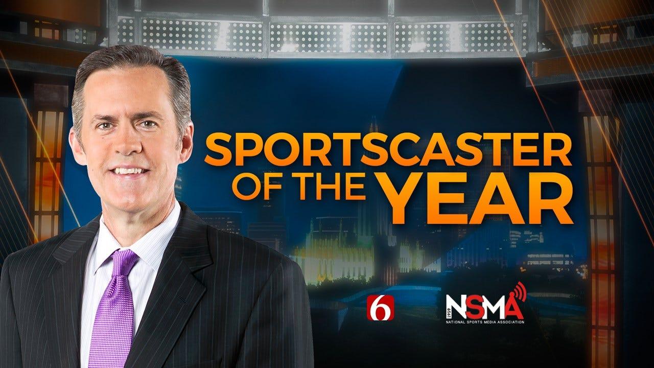 John Holcomb Named 2019 Oklahoma Sportscaster Of The Year