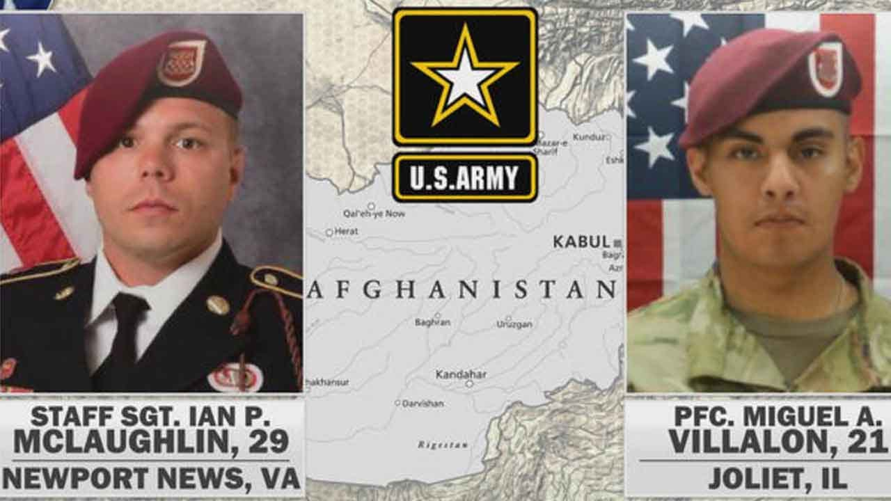 Two U.S. Soldiers Killed By Roadside Bomb In Afghanistan Identified