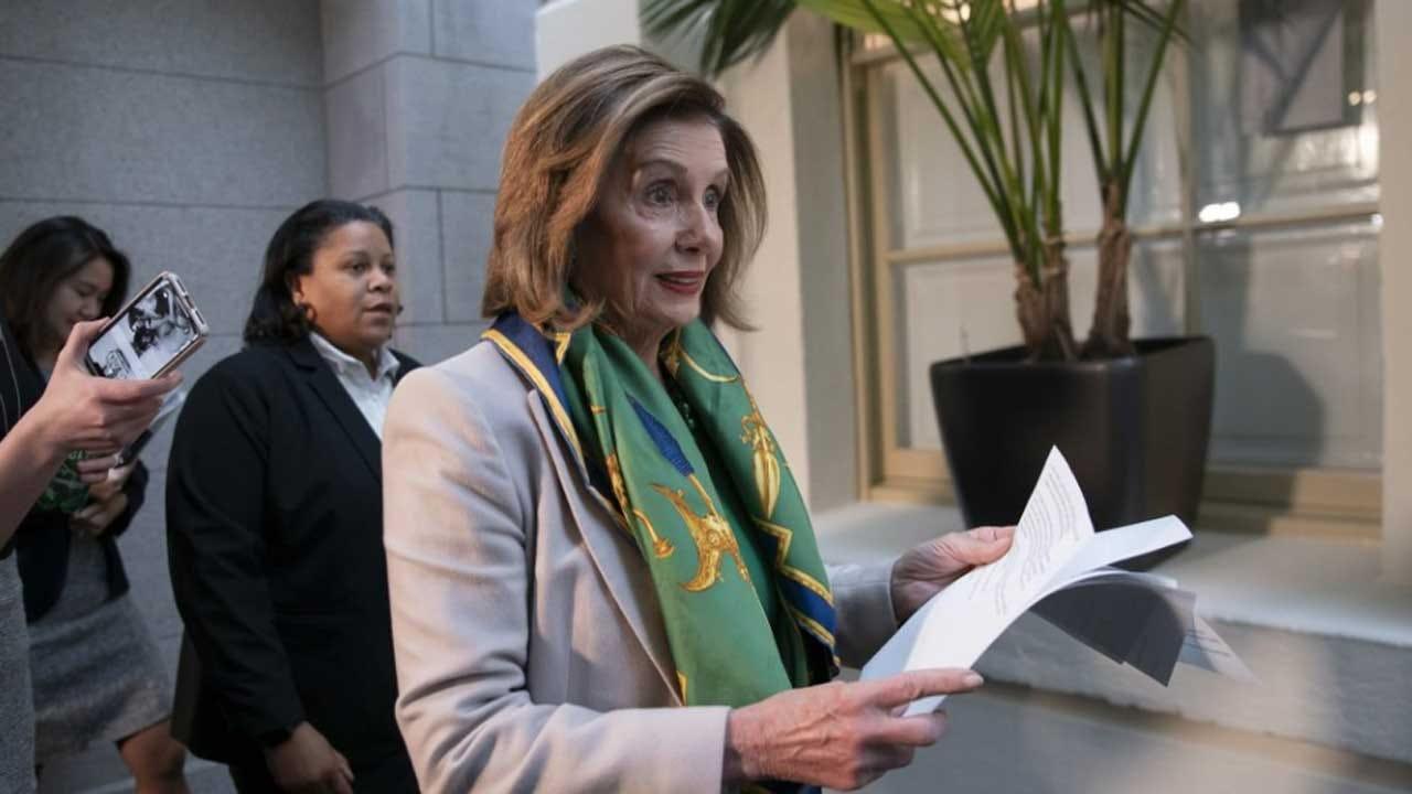 Pelosi Sets Wednesday Votes To Send Impeachment To Senate