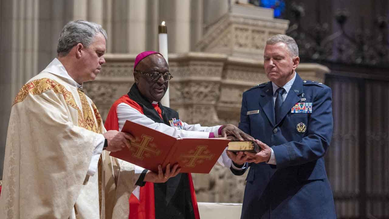 Religious Freedom Group Outraged Over Space Force Bible Blessing At National Cathedral