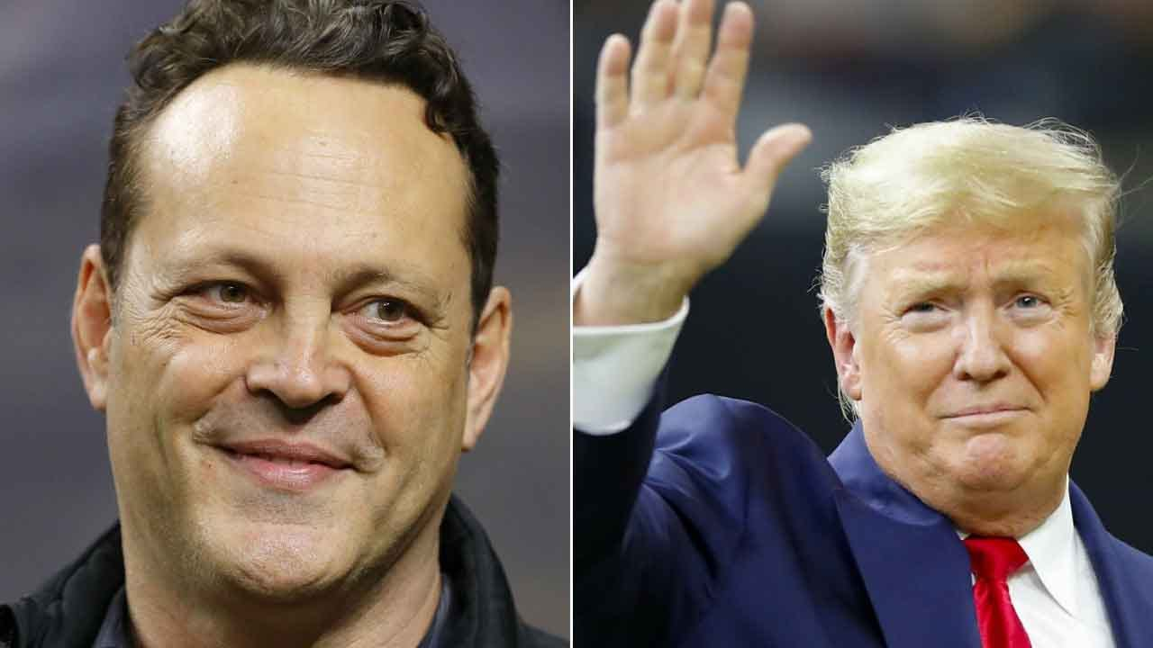 Vince Vaughn Gets Social Media Backlash For Chatting With Trump At College Championship Game