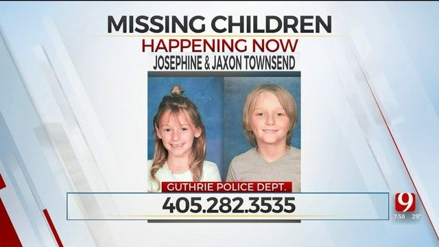 Okla., Illinois Law Enforcement Searching For 2 Missing Children