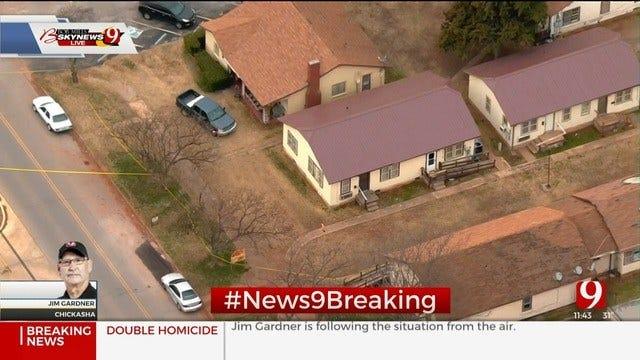 Police Investigate Double Homicide In Chickasha; Suspect In Custody