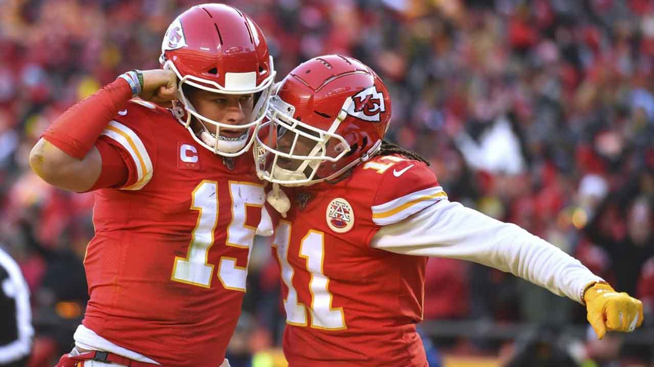 Mahomes' Feet, Arm, Lift Chiefs To Super Bowl Over Titans