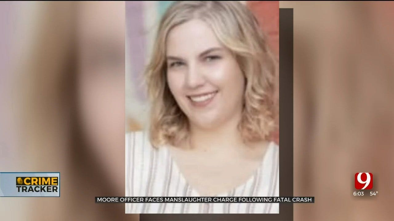 Moore Police Officer Charged With Manslaughter After Moore Teen Was Killed In SE OKC Crash