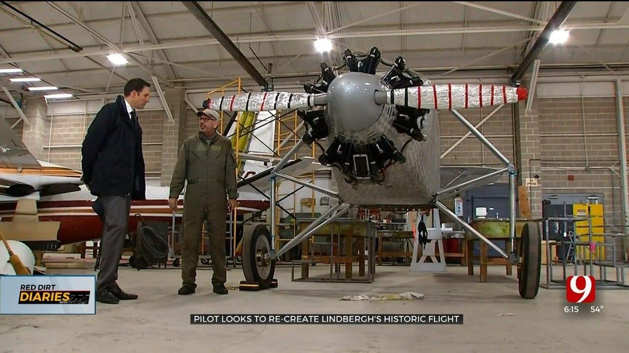 Norman Man Plans To Recreate Lindbergh's Historic Flight