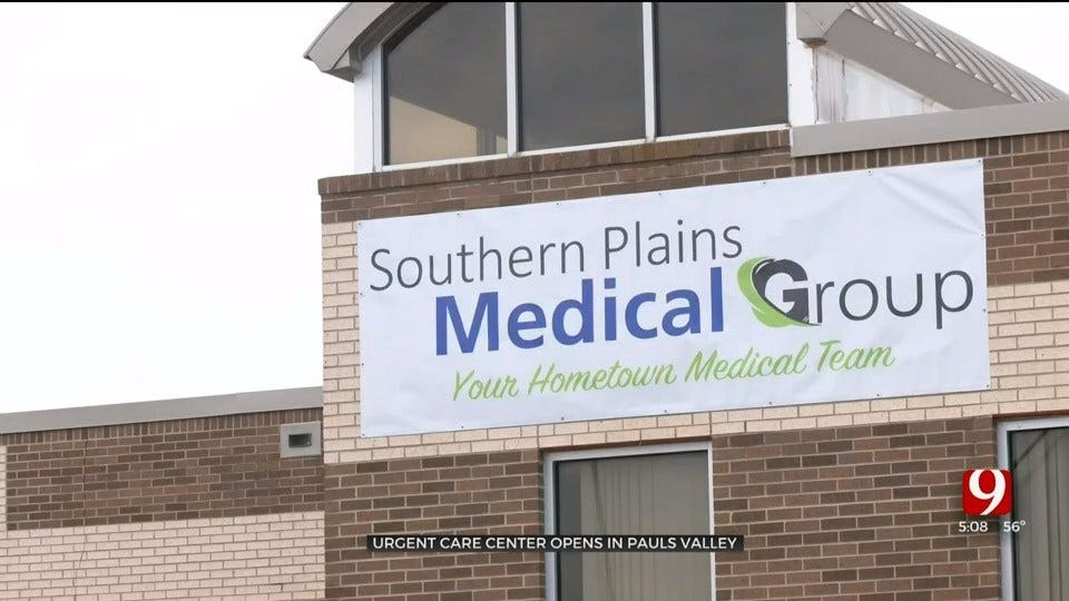 Urgent Care Opens In Part Of The Former Pauls Valley Hospital
