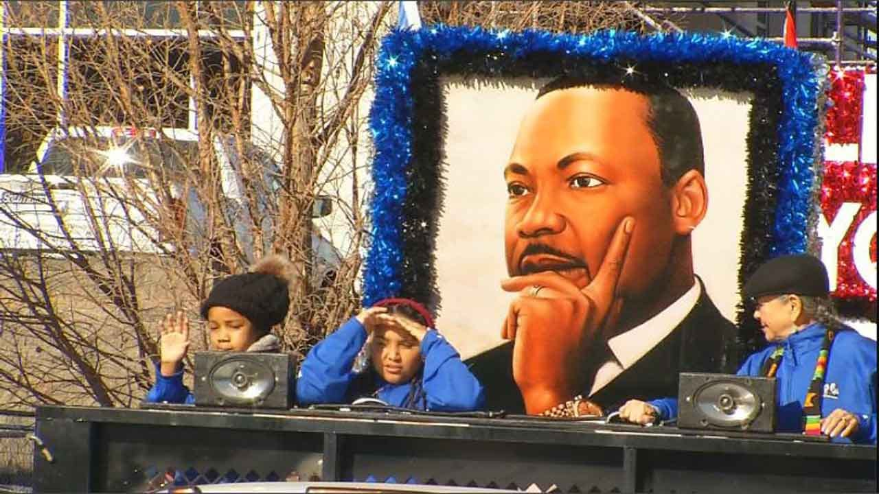 'Better Together' OKC Holds 40th MLK Day Parade