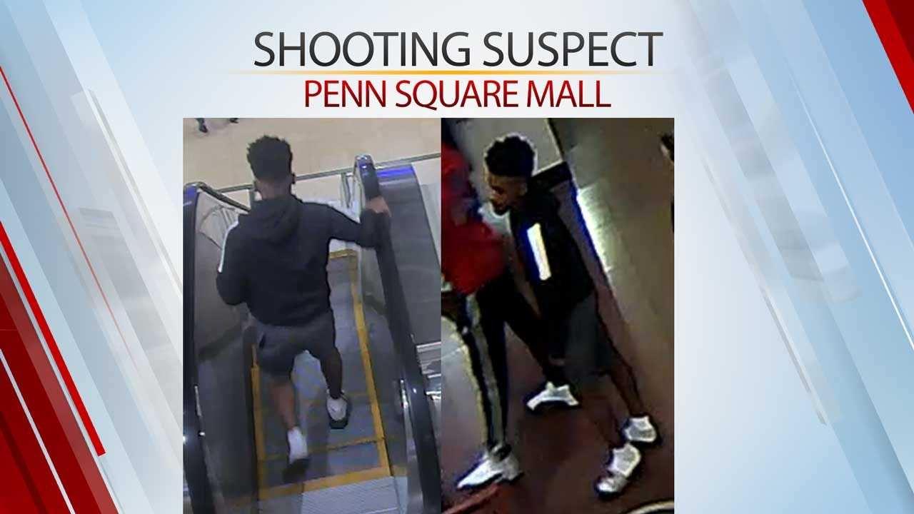 OKC Police Release Surveillance Photos Of Penn Square Mall Shooting Suspect, People Of Interest
