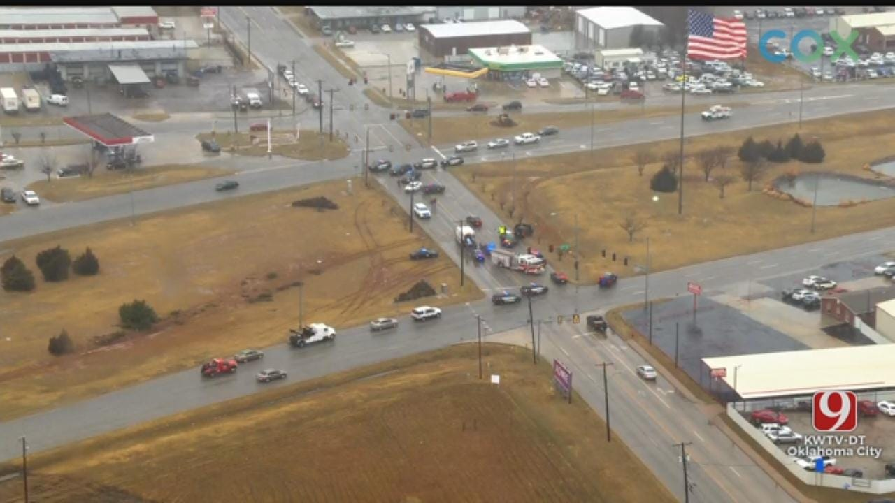 1 Killed In Officer-Involved Shooting After Chase Ends In Moore