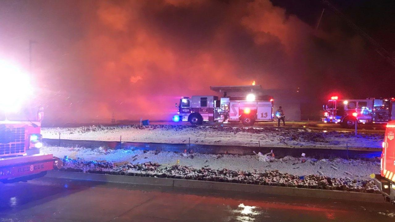 4-Alarm Fire Damages Part Of SE OKC Building
