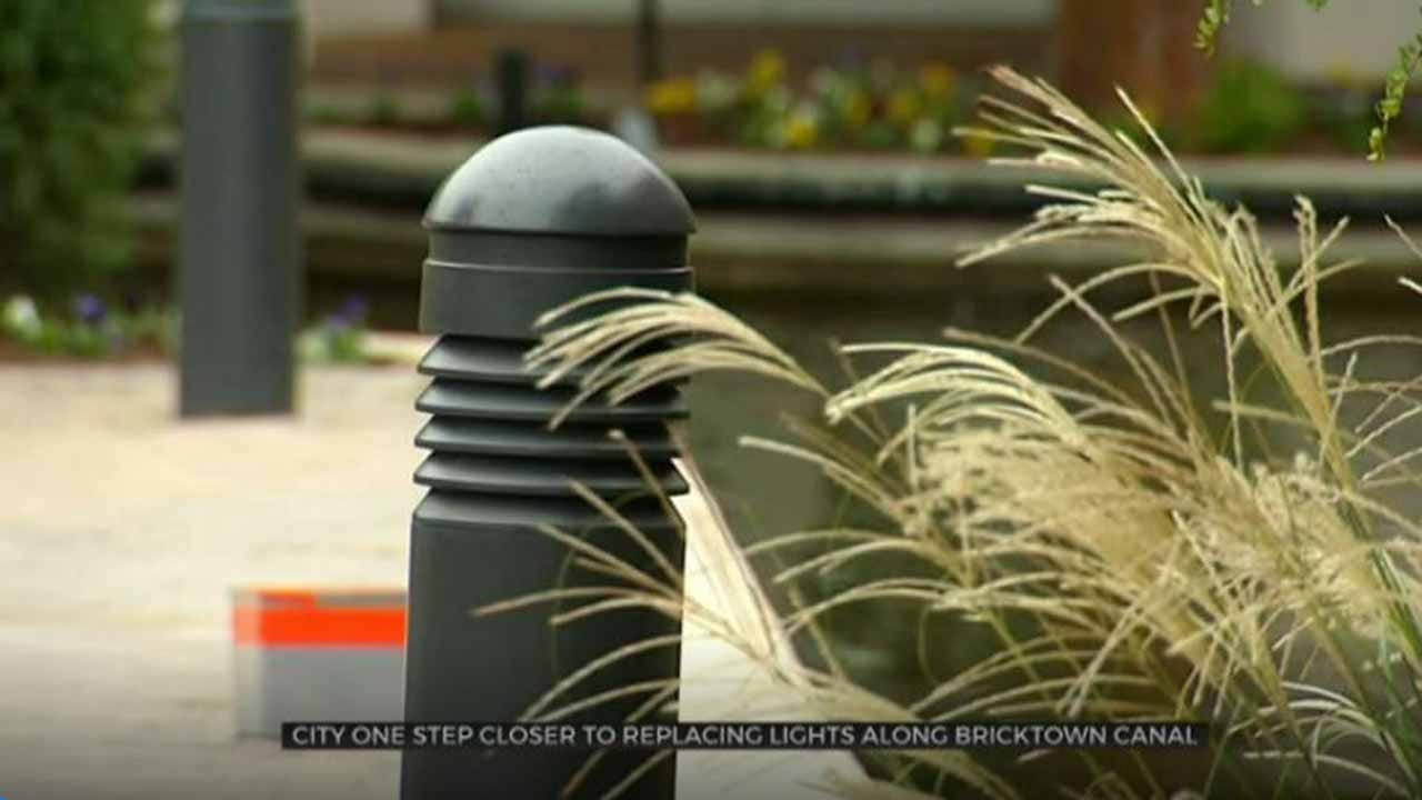 City One Step Closer To Replacing Bricktown Canal Lights