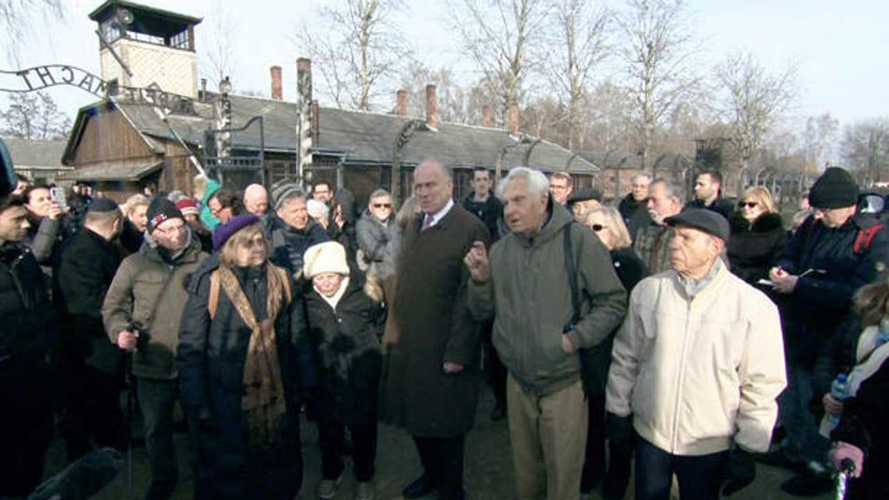 75 Years After Auschwitz, Survivor Returns To Death Camp For First Time