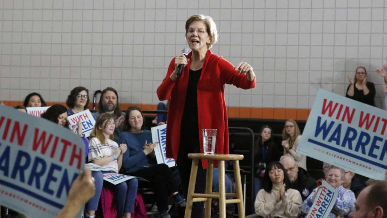Elizabeth Warren's Challenge: Breaking Out Of Murky Middle