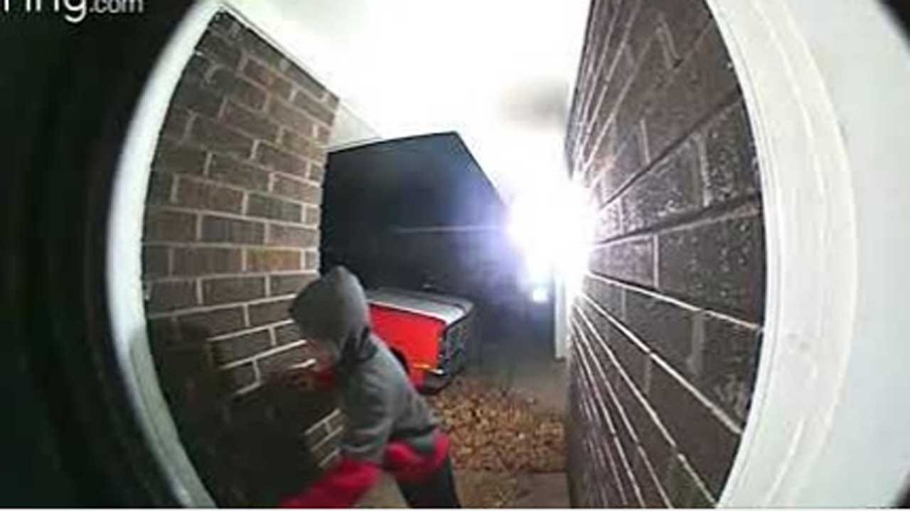 OCPD: Child Burglary Suspect Caught On Camera Moments Before NW OKC Break-In