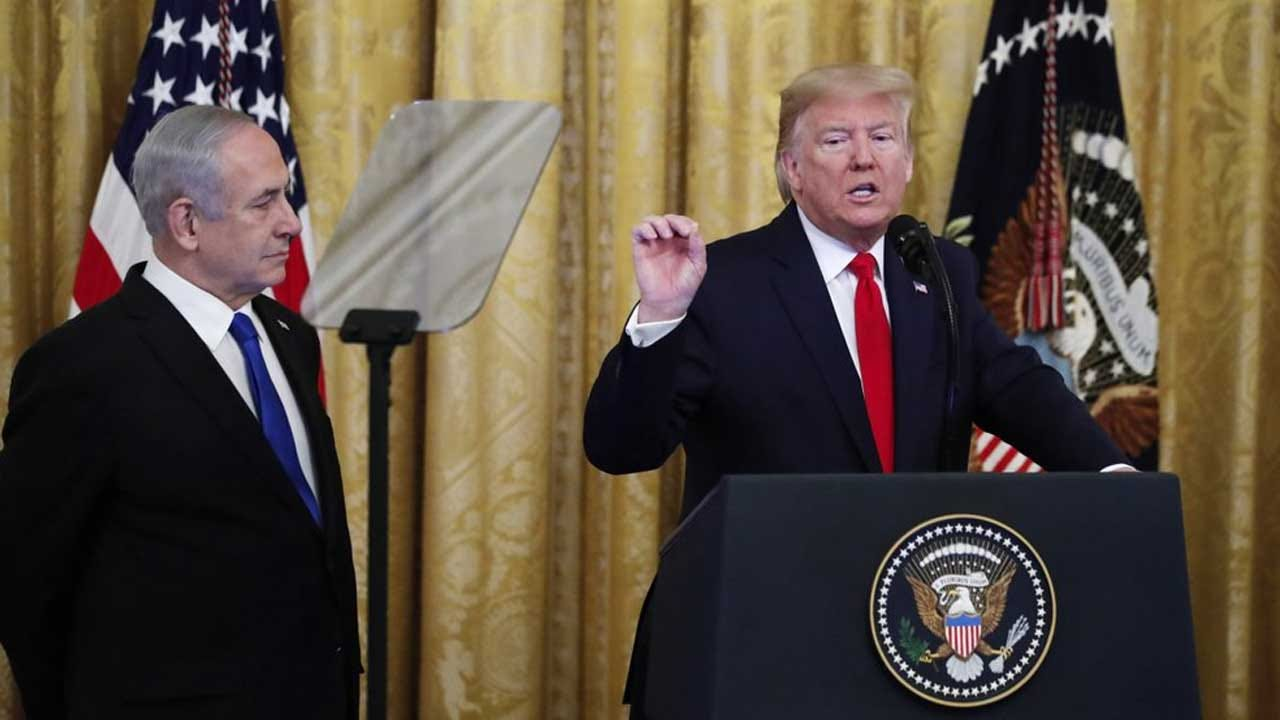 Trump Plan Calls For Palestinian State, Settlement Freeze