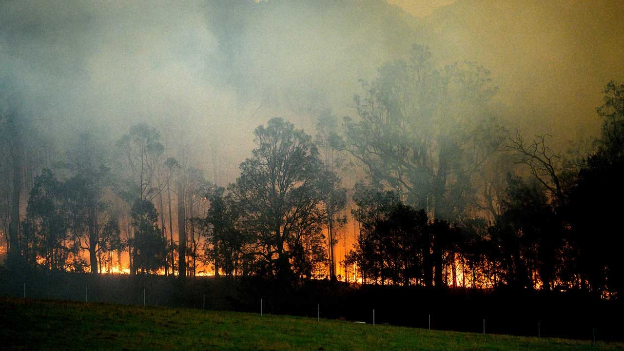 Bushfire Sparked By Military Helicopter Threatens Australia's Capital