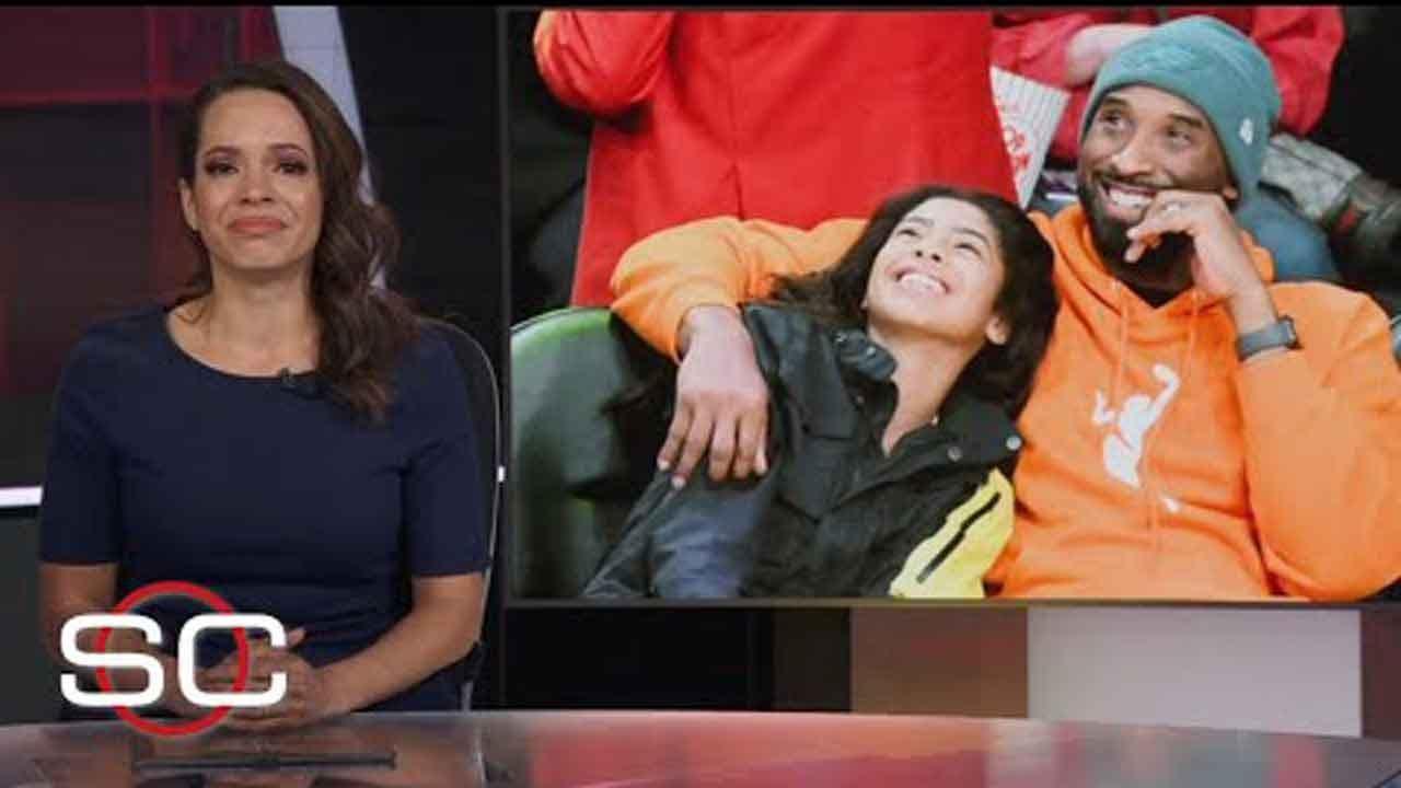 ESPN Anchor's Emotional Tribute To Kobe Bryant Inspires #GirlDad Trend