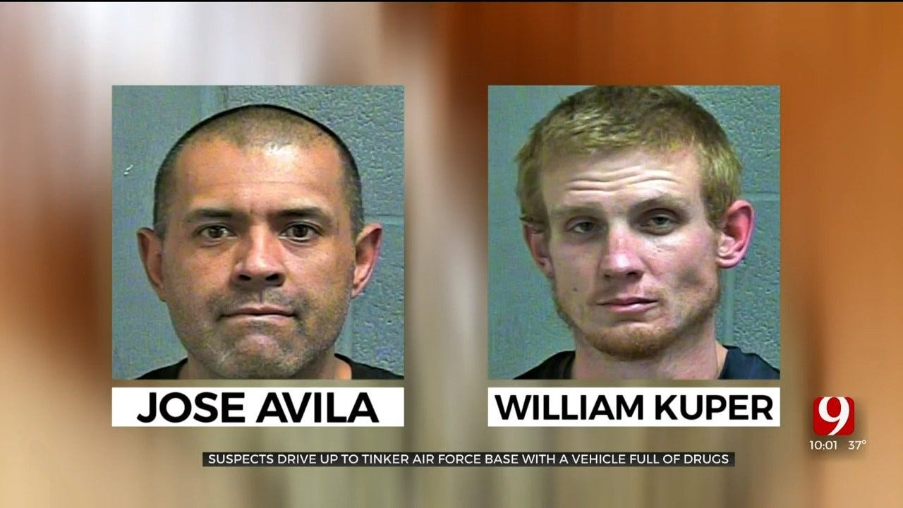 2 Men Arrested, Accused Of Trying To Enter Tinker AFB With Marijuana, A Gun