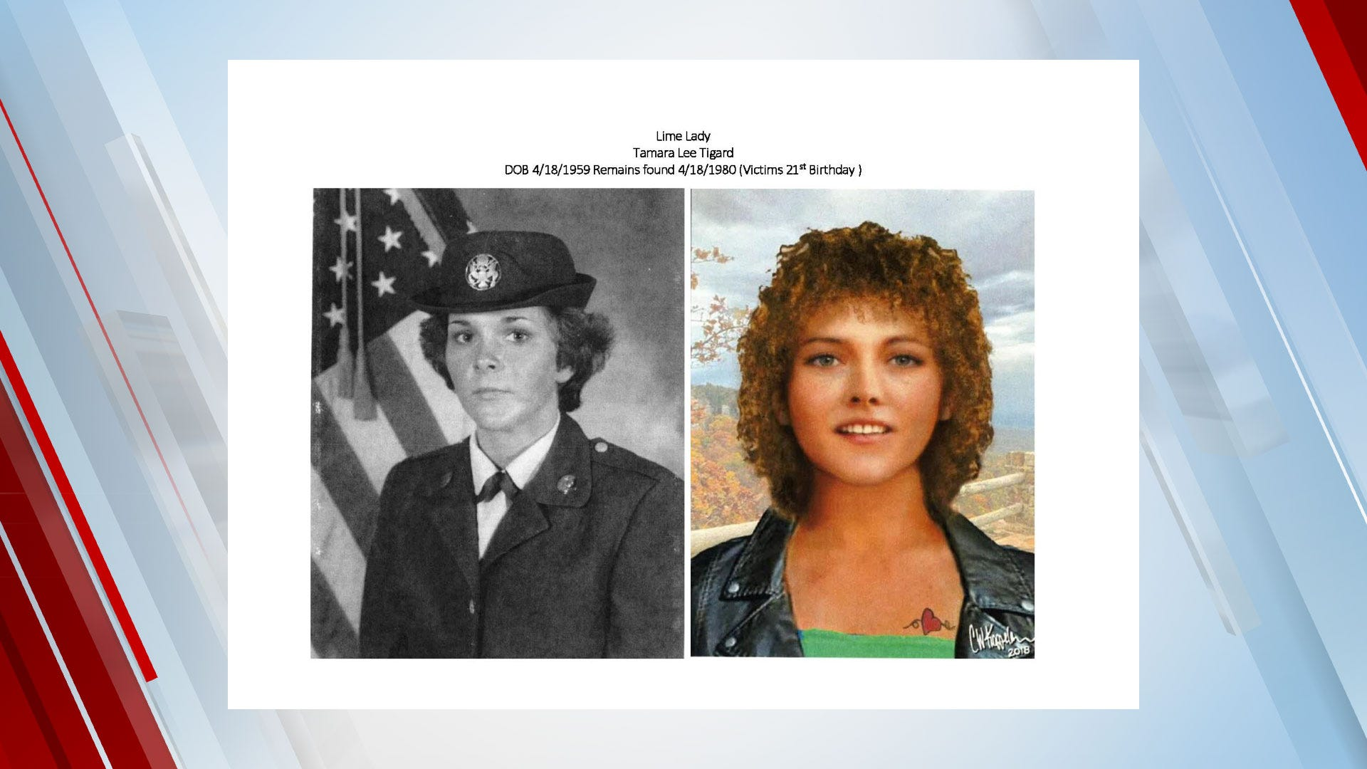 Officials Identify Oklahoma's 'Lime Lady' In 40-Year-Old Cold Case