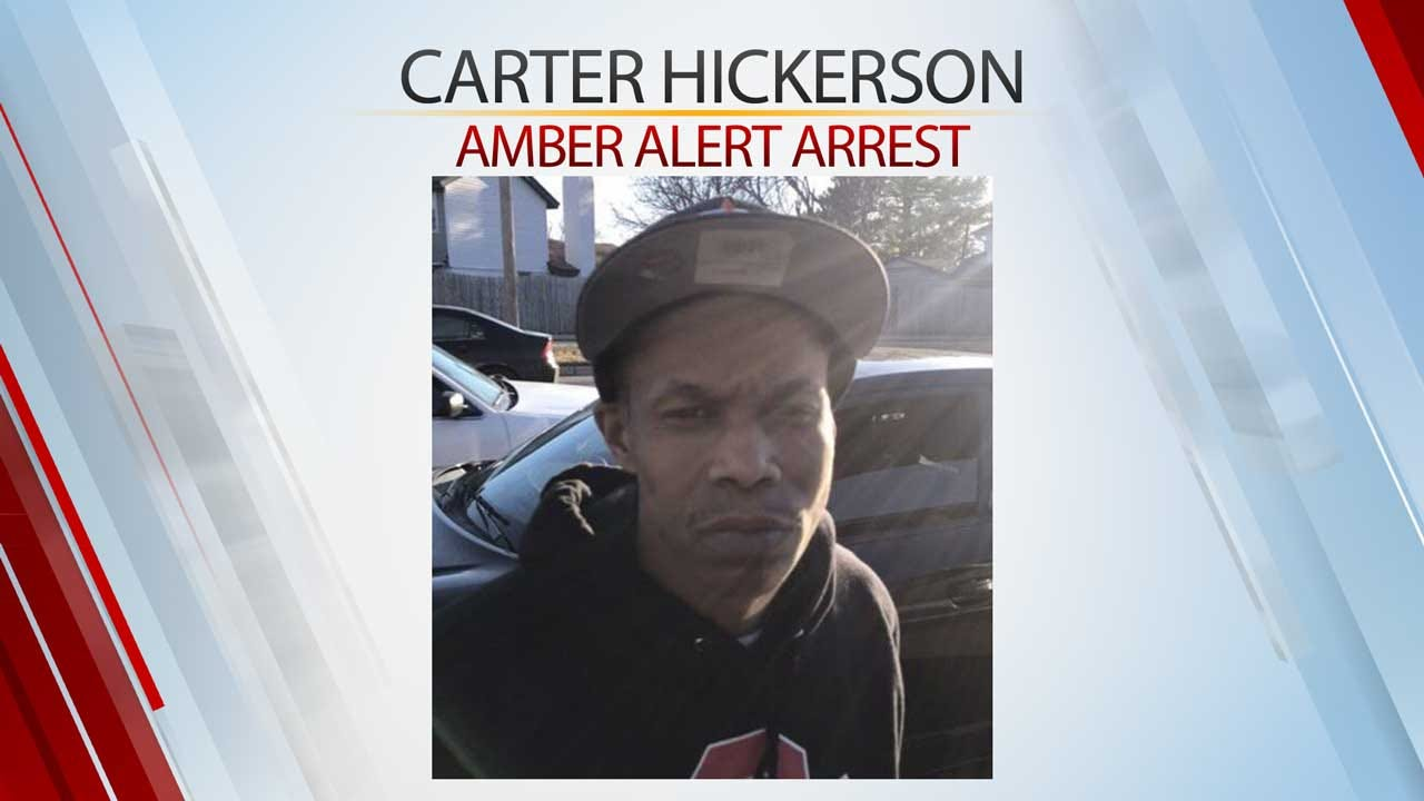 Amber Alert Suspect Caught In NW OKC, Police Say