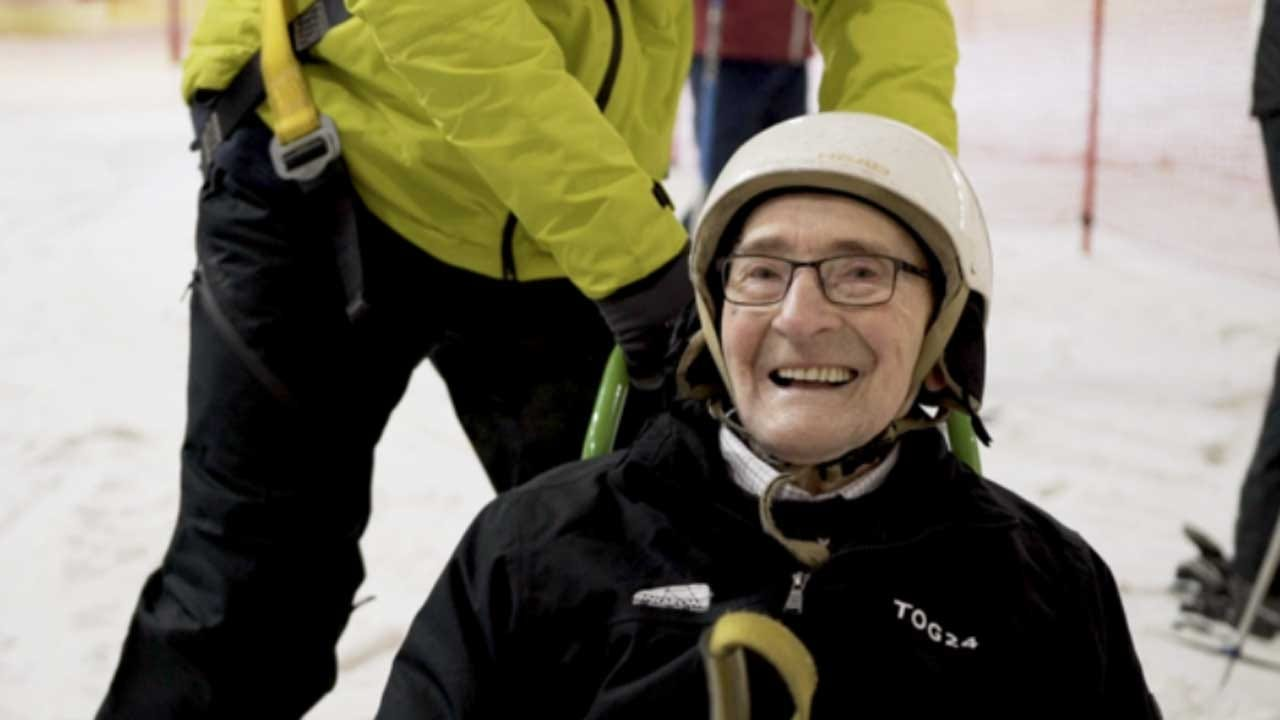 'It Made Me Feel Alive Again': 92-Year-Old's Boyhood Dream Of Skiing Finally Fulfilled