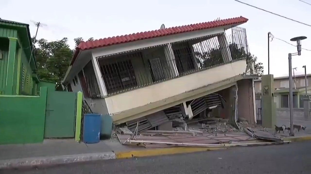 Many Residents Afraid To Go Indoors After Puerto Rico's Strongest Earthquake Since 1918