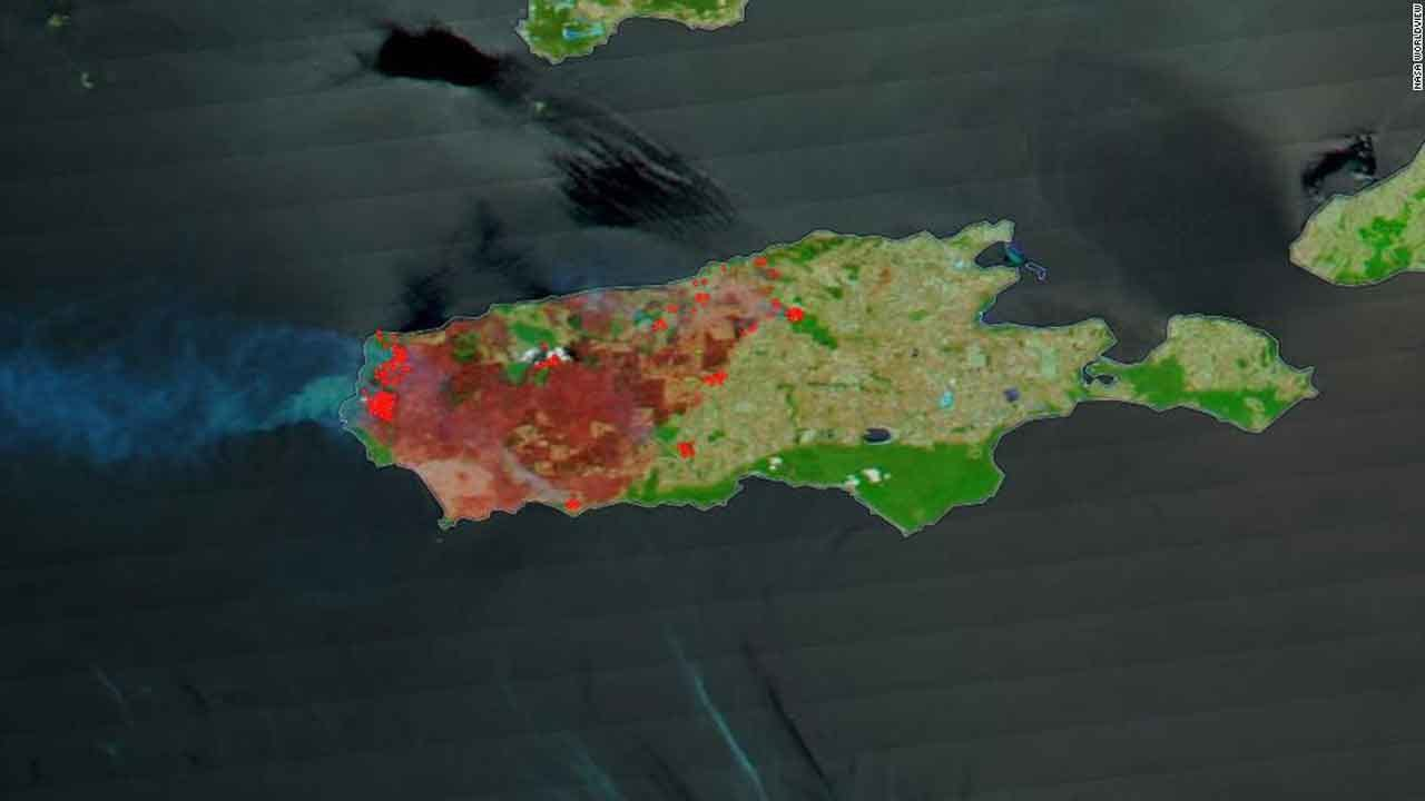 NASA Images Show Wildfires Have Destroyed Nearly One-Third Of Australia's Kangaroo Island