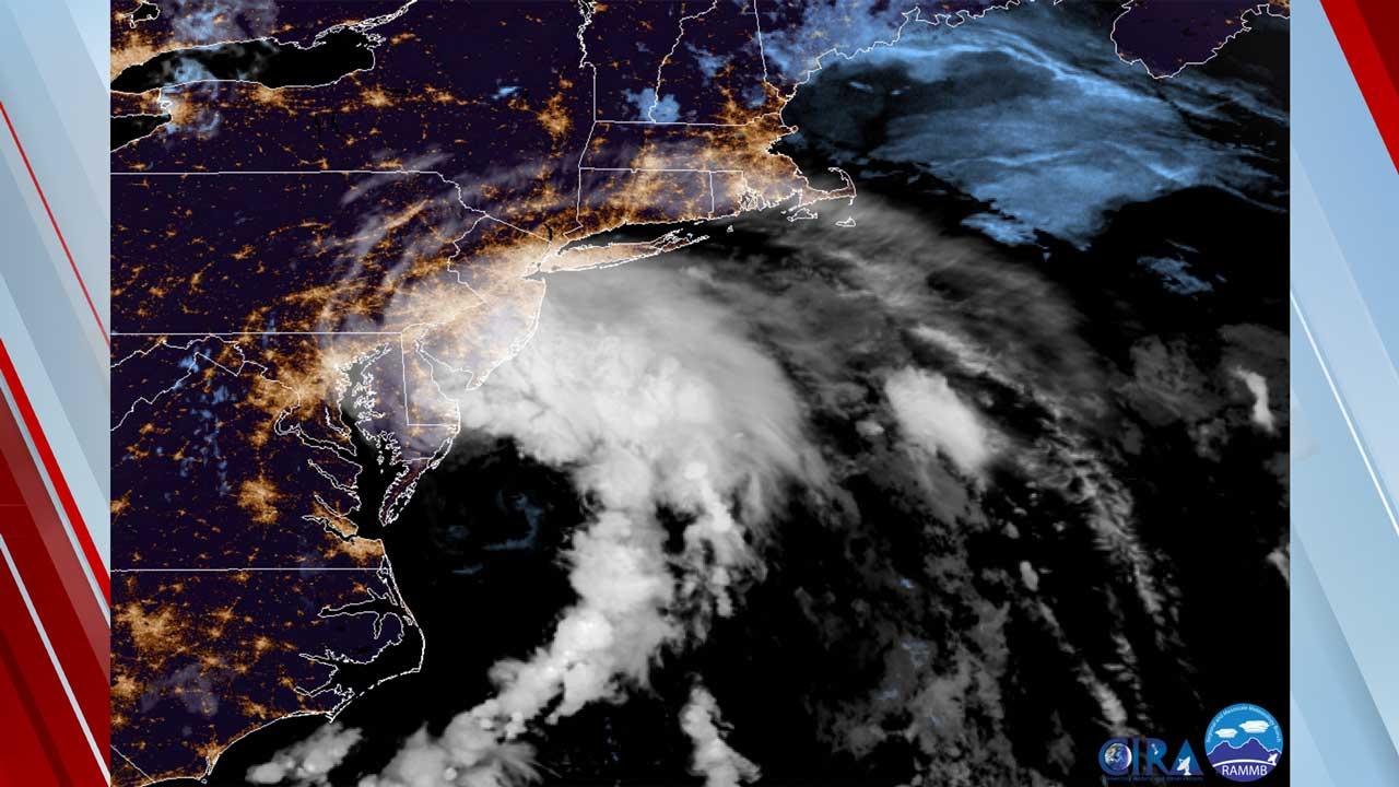 Tropical Storm Fay Lashing East Coast With Heavy Rain, Wind