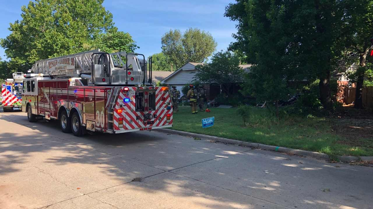 No Injuries After Hot Water Tank Causes Small House Fire In Northwest OKC
