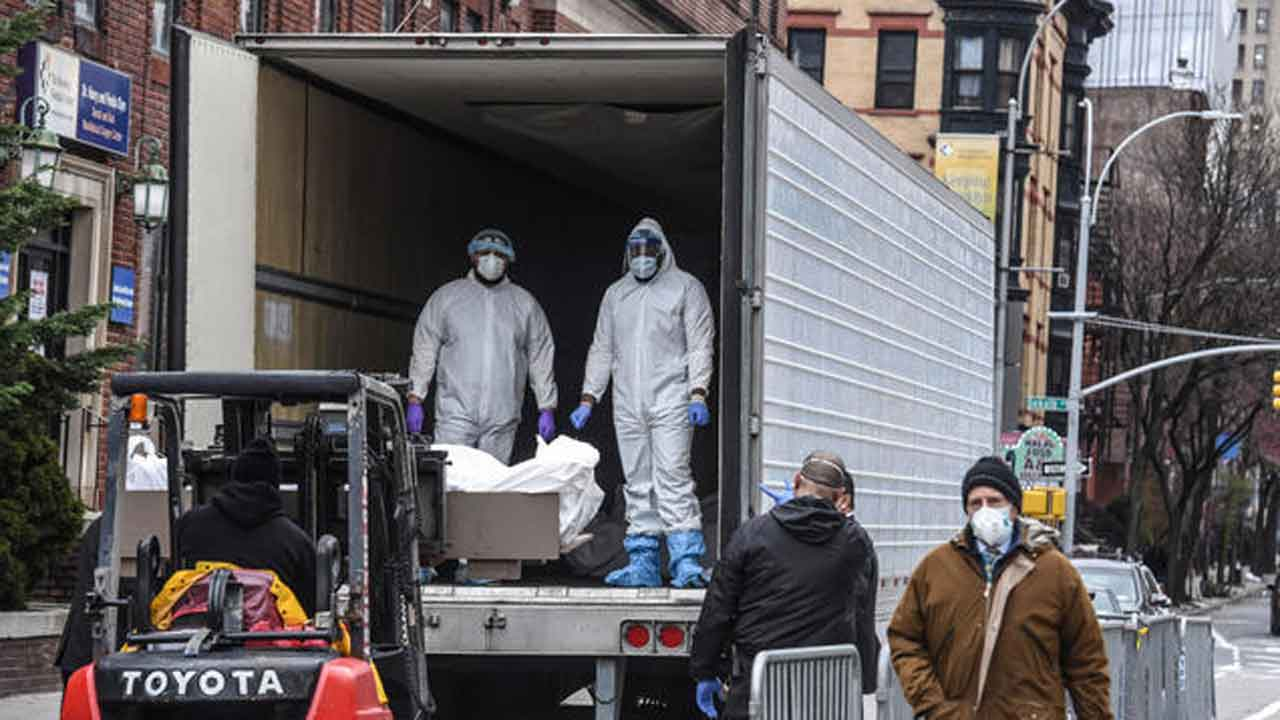 Refrigerated Trucks Requested In Texas, Arizona As Morgues Fill Up Due To Coronavirus Deaths