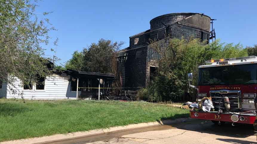 OKC Emergency Crews Respond To Structure Fire, No Injuries Reported