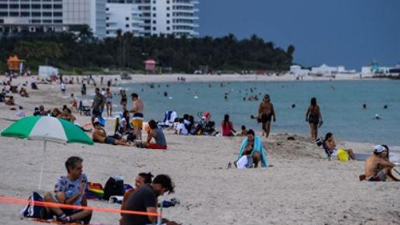 Florida Counties Impose Curfews As Coronavirus Cases Spike