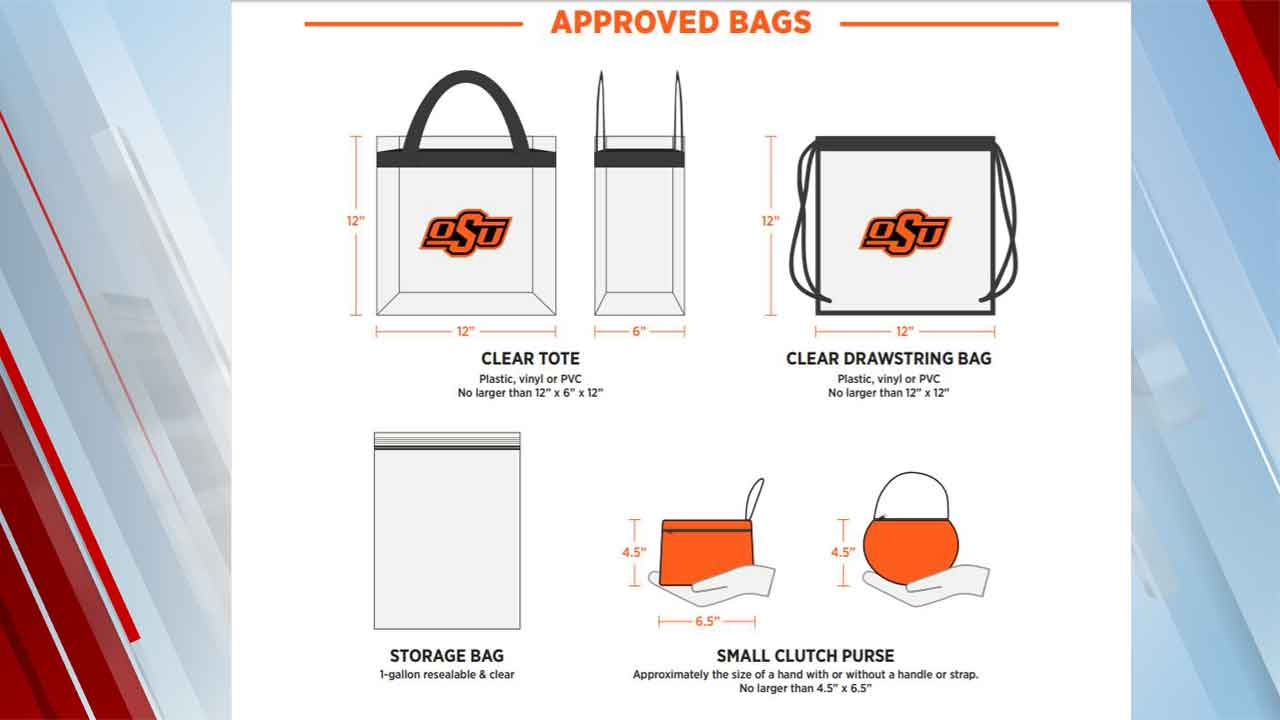 Oklahoma State Athletics Adopts Clear Bag Policy