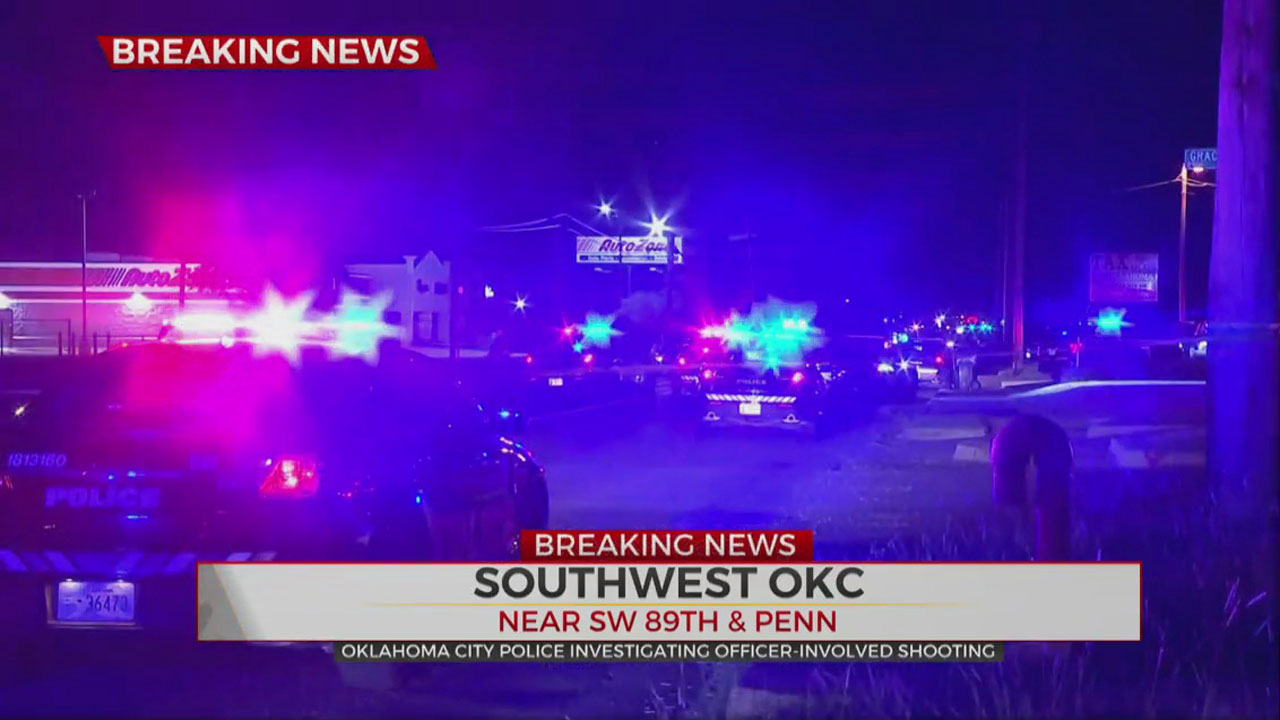 1 Dead In Early Morning Police Shooting In SW OKC