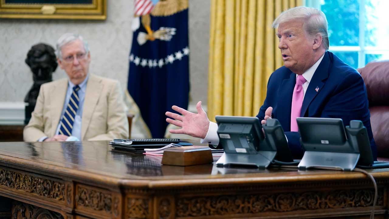 White House Drops Payroll Tax Cut As GOP Unveils Coronavirus Aid