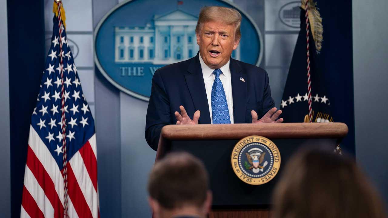 Trump briefing on July 22