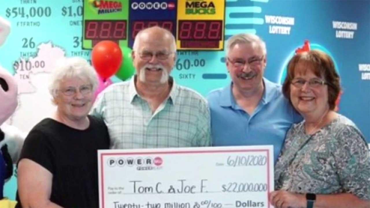 Man Keeps Promise Made In 1992, Splits $22 Million Lottery Winnings With Friend