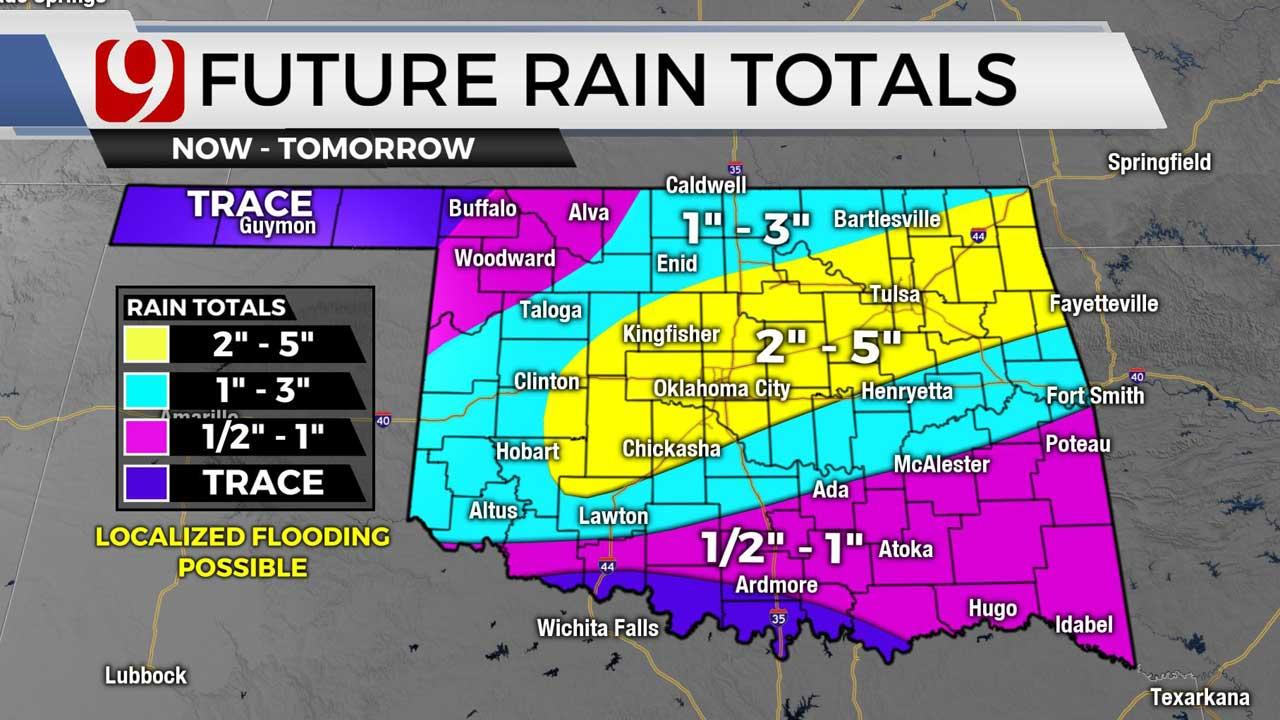 Future rain totals on 7-28
