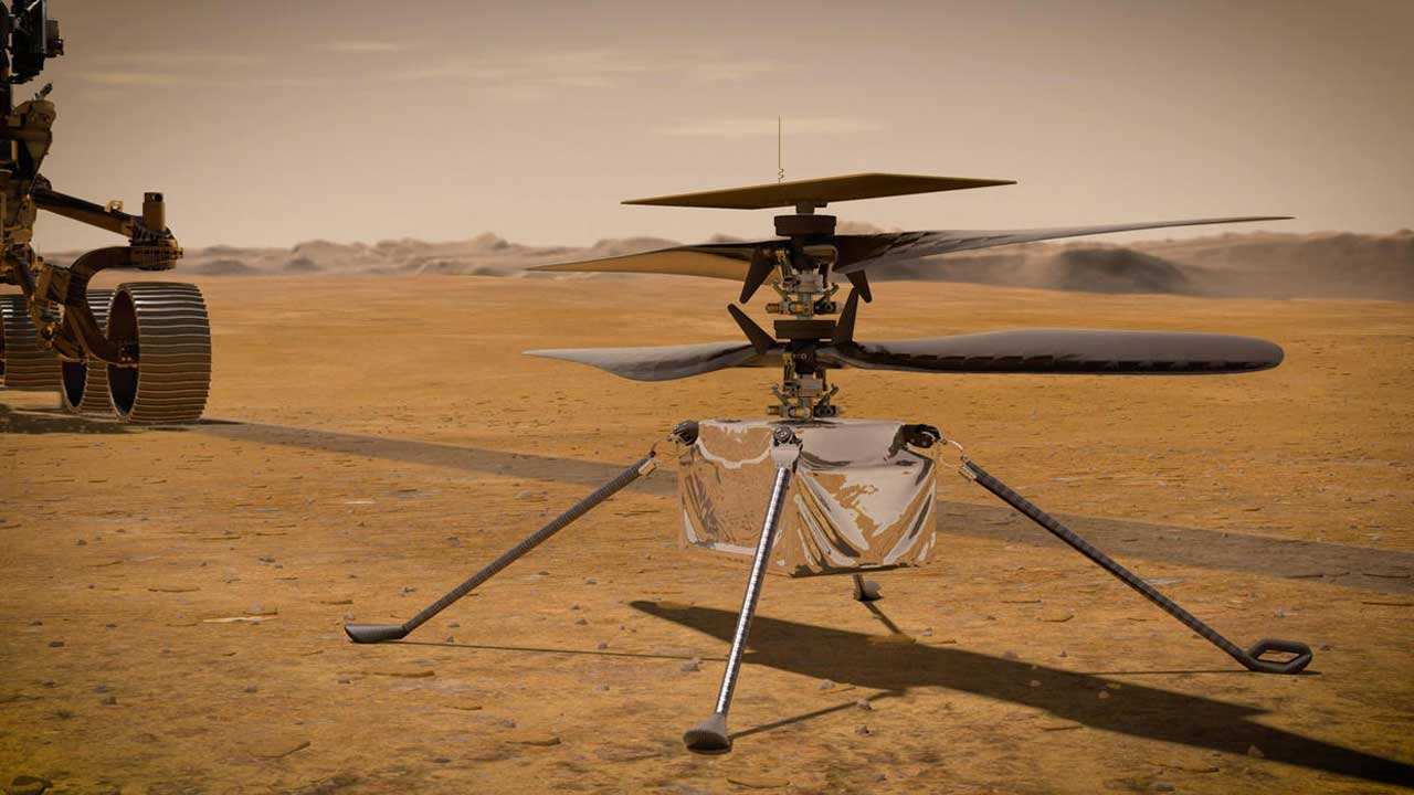 NASA Will Soon Try To Fly A Helicopter Over Mars: 'It Really Is Like The Wright Brothers' Moment'