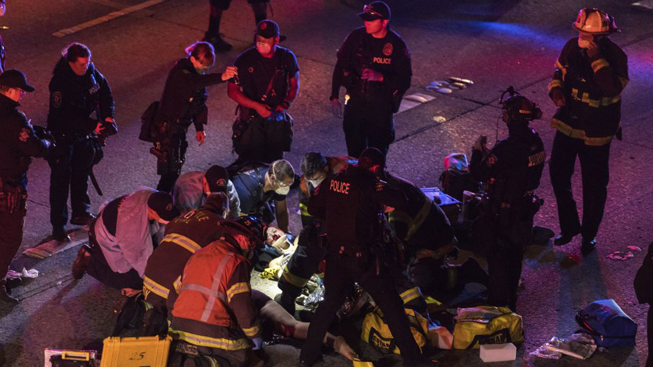 1 Of 2 Protesters Hit By Driver On Seattle Driveway Dies