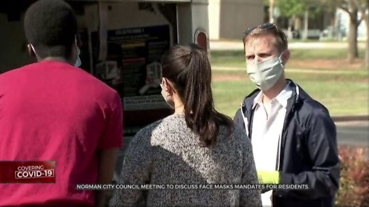 Norman City Council Meeting To Discuss Face Mask Mandates For Residents